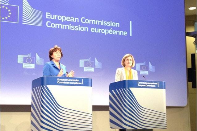 Neelie Kroes stamane al Parlamento Europeo
