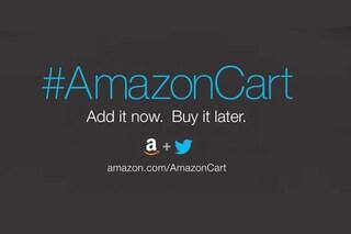 Arriva #AmazonCart, lo shopping online adesso si fa anche via Twitter