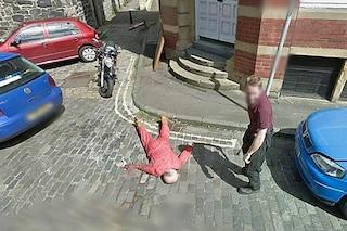 Google Street View e il finto omicidio di Edimburgo: interviene la polizia