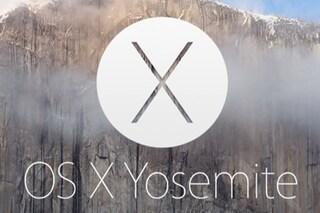 Mac OS X 10.10 Yosemite, oggi il via alla beta pubblica: non succedeva dal 2000
