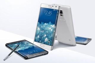 Samsung presenta il Galaxy Note Edge: un Note 4 con display curvo