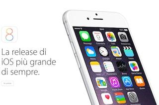 iOS 8.0.1, l'aggiornamento soffre di un grave bug che blocca il telefono e il TouchID