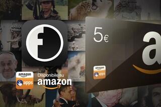 L'app di Fanpage.it arriva nell'Amazon App-Shop: in regalo 5 euro per le tue app e giochi preferiti