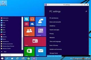 Windows 9: ecco come sarà il nuovo menu Start [VIDEO]