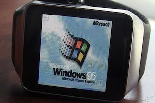 Windows 95 su smartwatch Android Wear [VIDEO]