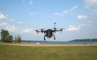 Testato un nuovo metodo per lo studio del rischio sismico grazie all'utilizzo di droni