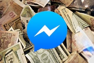 Facebook Messenger consentirà di inviare denaro ai propri amici
