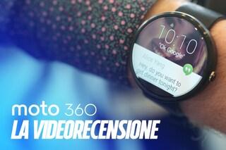 Videorecensione Moto 360: lo smartwatch che non sembra uno smartwatch
