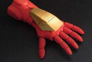 Protesi in 3D, l'arto prostetico di Iron Man per i bambini senza una mano