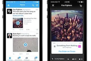Twitter presenta Audio Card, il nuovo servizio per ascoltare musica sul social network
