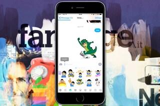 Come funziona Bitmoji, la tastiera per comunicare con gli avatar di Bitstrips in iPhone [VIDEO RECENSIONE]