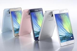 Galaxy A5 e A3, tutti i dettagli e il prezzo dei nuovi smartphone di Samsung