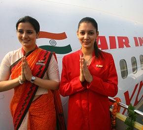 Air India, equipaggio tutto al femminile