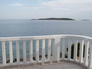 Una magnifica vista sul mare di una villa in Croazia