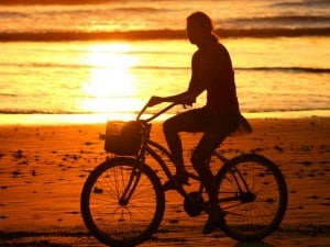 Bicicletta verso l'imbarco!