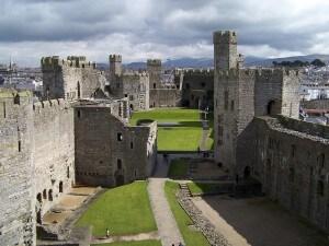il galles si distingue per i suoi castelli e i parchi