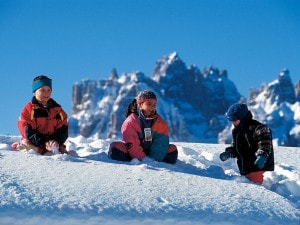 Vacanze in montagne coi bambini