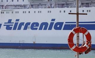 Sciopero Tirrenia all'indomani della privatizzazione