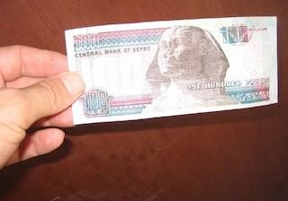 Moneta egiziana: cambio valuta Lira egiziana-Euro