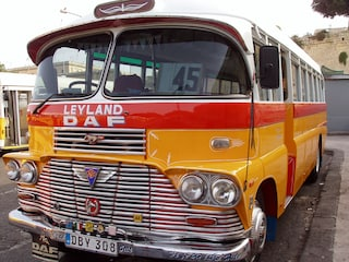 Autobus a Malta