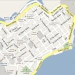 mappa de La Valletta, Malta