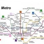 clicca per ingrandire la mappa della metro