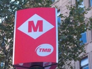 metro a Barcellona