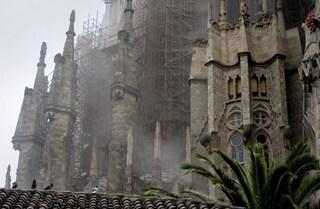 Sagrada Familia: incendio domato e piromane arrestato