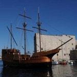La nave Karaka a Ragusa