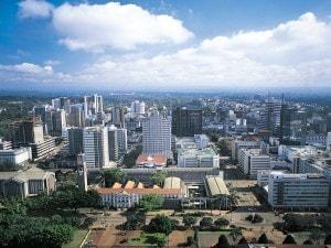Nairobi capitale del Kenya