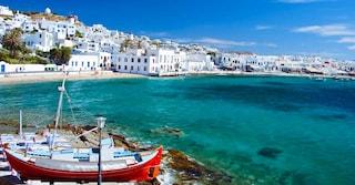 Muoversi a Mykonos: autobus, taxi e traghetti