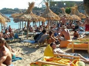 spiagge di mykonos, in Grecia