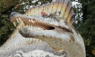 Altro che Jurassic Park! I dinosauri sono a Courmayeur