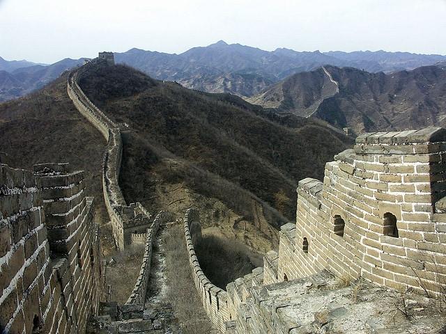 meraviglie muraglia cinese