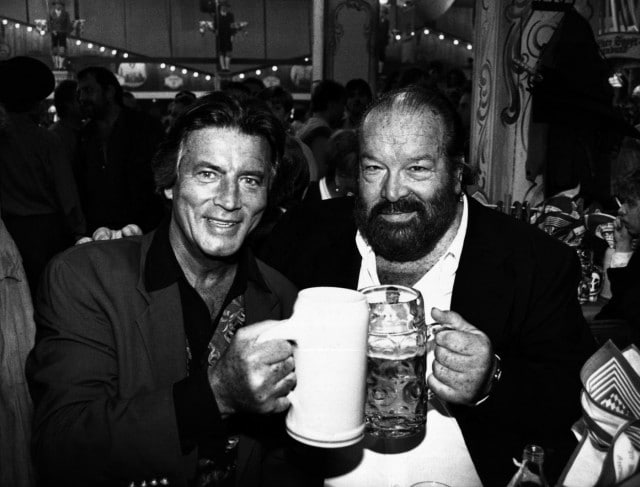 Bud Spencer e Pierre Brice all'Oktoberfest del 1993