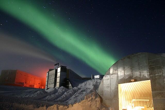 antartide aurora