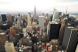 A volo di uccello sui grattacieli delle grandi metropoli