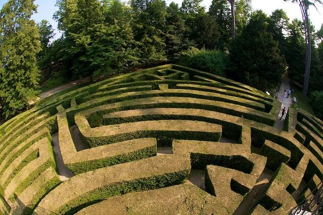 labirinti villa pisani