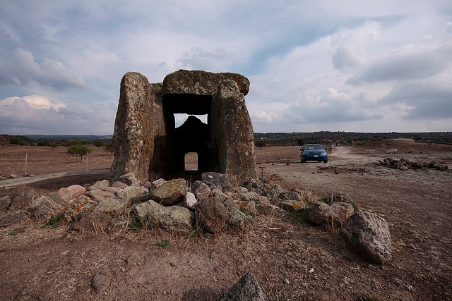 megaliti dolmen s'accoveccada