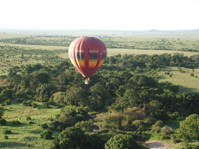 mongolfiera masai mara