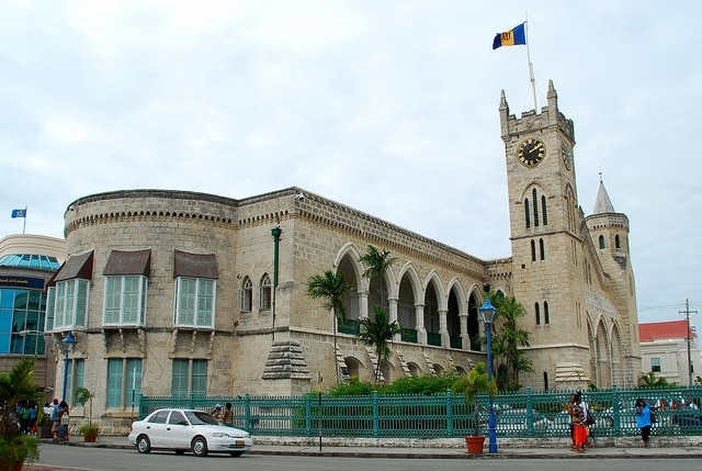 barbados bridgetown parliament