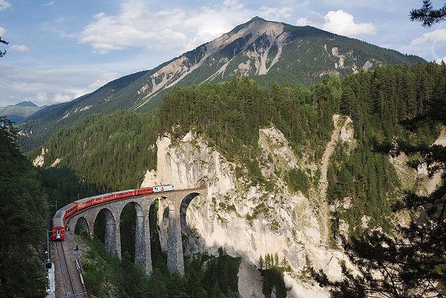 treni ferrovia retica