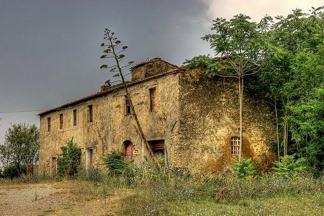 capodanno enogastronomico casale abbandonato