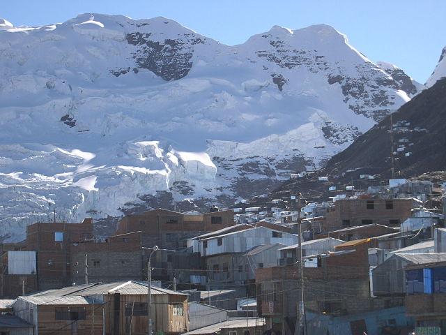 città alte la Rinconada Perù