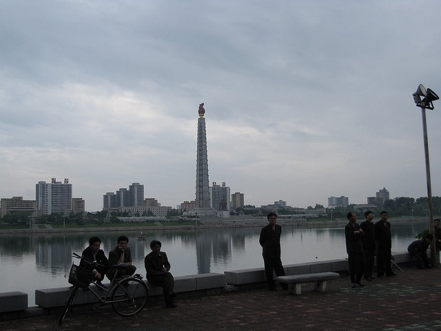 corea del nord juche idea pyongyang