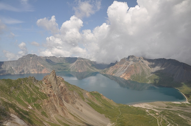 corea del nord lago del cielo