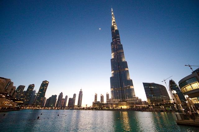 grattacieli burj khalifa