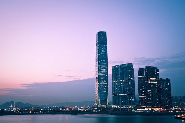 grattacieli hong kong