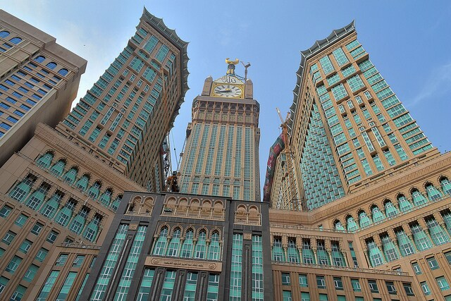 grattacieli mecca clock tower