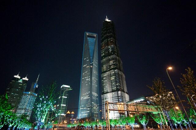 grattacieli shangai